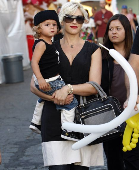 Gwen & Kingston @ Hollywood's St. Genero Festival.